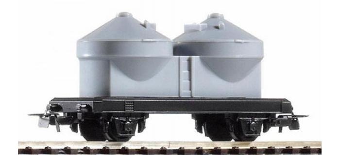 Modelisme ferroviaire : PIKO PI 57024 - Wagon silo