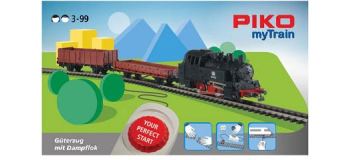 Modelisme ferroviaire : PIKO PI 57092 - Coffret de départ