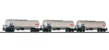 Modélisme ferroviaire : PIKO PI 58343 - Set 3 citernes ESSO SNCB