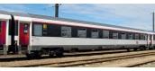 Modélisme ferroviaire  : PIKO PI 58648 - Set de 2 voitures Corail lit livrée Carmillon SNCF