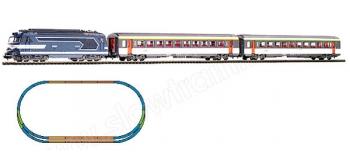Modélisme ferroviaire : PIKO PI 59010 - Coffret de départ analogique 67400 SNCF