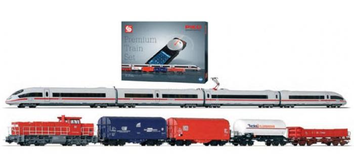 Modelisme ferroviaire : PIKO PI 59114 - Coffret départ Prémium 2 trains son DB