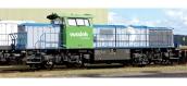 Modélisme ferroviaire :  PIKO PI59175 - Locomotive Diesel BB1700 vossloh