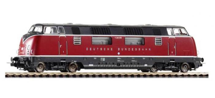 Modélisme ferroviaire : PIKO PI 59709 - Locomotive diesel V200 SON AC DB