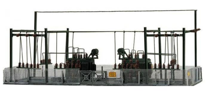 Modélisme ferroviaire : PIKO - PI 60016 - Maquette Sous station électrique