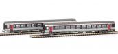Modélisme ferroviaire : PIKO PI 94080 - Set de 2 voitures Corail VTU Carmillon 2CL - SNCF