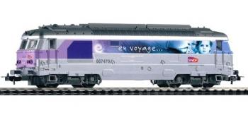 Modélisme ferroviaire : PIKO PI 95174 - Locomotive diesel BB 67470 livrée
