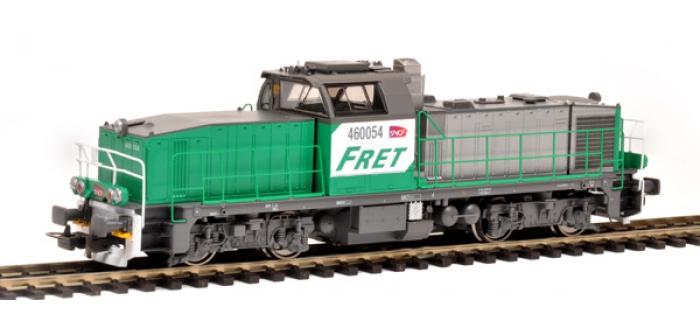 Modélisme ferroviaire :  PIKO PI96480 - Locomotive diesel BB 60000 livrée FRET - SON