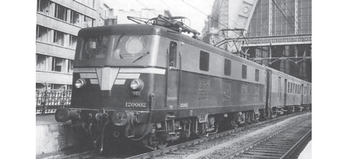 Modélisme ferroviaire : PIKO PI 96546 - Locomotive électrique type 120 SNCB SON AC