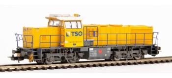 Modélisme ferroviaire : PIKO PI 97764/2 - Locomotive Diesel Type G1206 TSO
