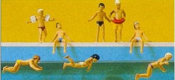 PREISER 10307 Enfants à la piscine