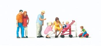 Modélisme ferroviaire : PREISER - PR10695 - Promenade en famille