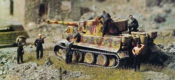 PREISER 16500 - Equipage de chars, Reich Allemand 1935 - 45