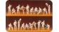 FIGURINES PREISER 16500 - Equipage de chars, Reich Allemand 1935 - 45