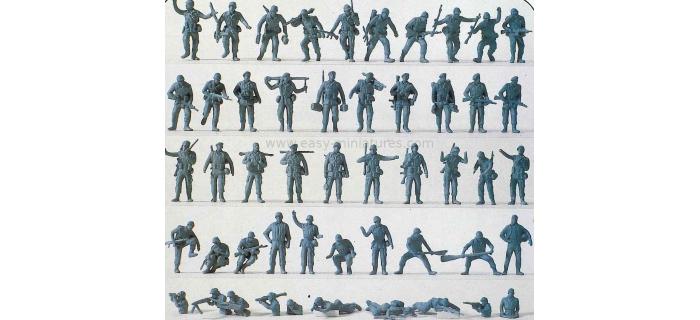PREISER 16506 - Soldats allemands