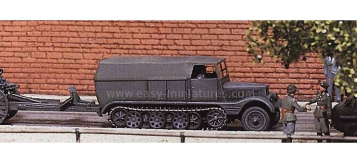 PREISER 16538 - Véhicule à chenilles, Reich Allemand 1939-45