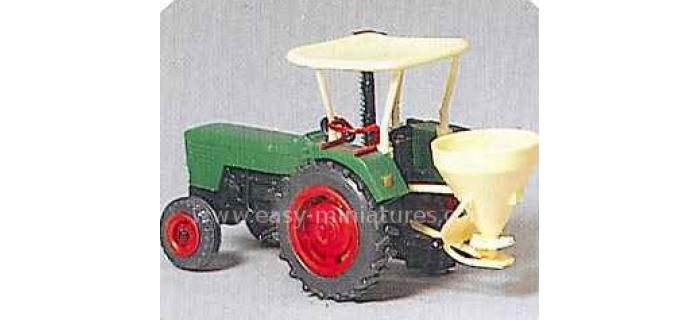 PREISER 17920 - Tracteur agricole Deutz D 6206, 2 pièces