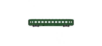 Modélisme ferroviaire : REE VB-130 - Voiture DEV AO courte livrée verte
