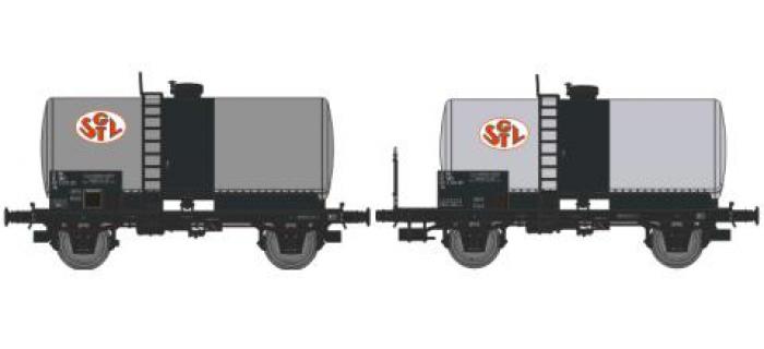 REE MODELE NW-009 Coffret 2 wagons citerne soudée OCEM 29