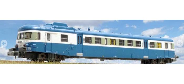 Modélisme ferroviaire : REE NW-037 - Autorail X-2891 Dépôt de TOULOUSE Logo Plaque Bleu Ep. IV-V