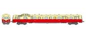 Modélisme ferroviaire : REE NW-056 - Autorail X-2902 – dépôt de NANCY Origine Toit Crème 1ère Classe Ep.III