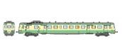 Modélisme ferroviaire : REE NW-057 - Autorail X-2897 – dépôt de LYON VAISE livrée verte Ep.III