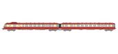 Modélisme ferroviaire : REE NW-130 - RGP 1 rouge TEE avec 3ème phare, Ep.III