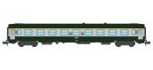 Modélisme ferroviaire : REE - NW-147 - Voiture UIC A9 Vert/Gris Logo blanc cartouche Corail Ep.V