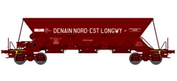 "REE  NW 011 - Wagon Trémie EX T1, ""DENAIN NORD-EST LONGWY"""