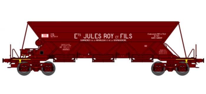 """REE NW013 - Wagon Trémie EX T1, """"Ets JULES ROY ET FILS"""""""