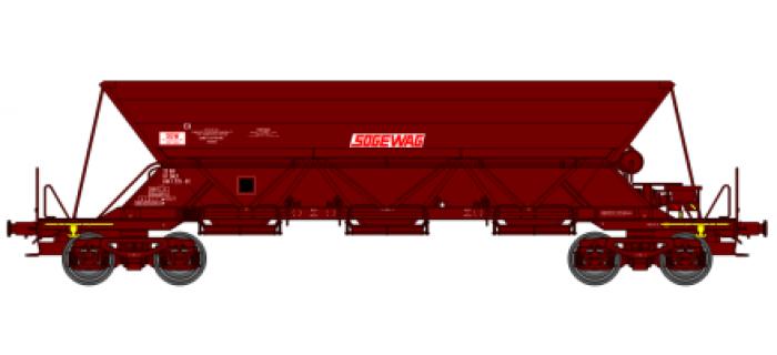 """Wagon trémie EX T1, """"SOGEWAG"""""""