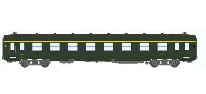 Train électrique : REE VB-061 - Voiture DEV AO Courte Ep.III B