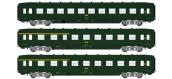 Modélisme ferroviaire : REE VB-200 - Coffret de 3 voitures DEV AO Ep.IV