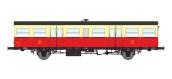 Modélisme ferroviaire : REE VB-246 - Remorque Autorail Rouge et Crème