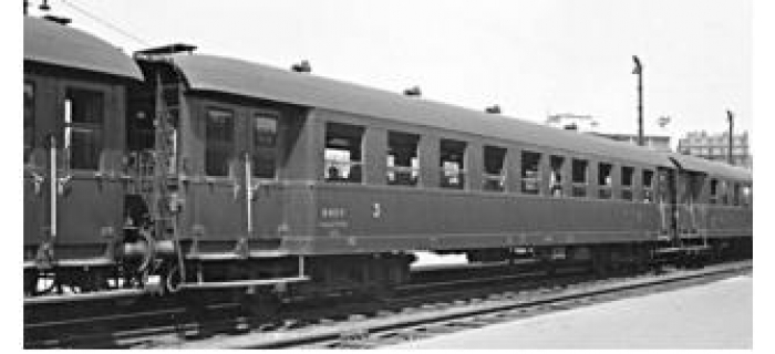 Modélisme ferroviaire : REE VB-36124 - Voiture Ex-Allemande Pullman