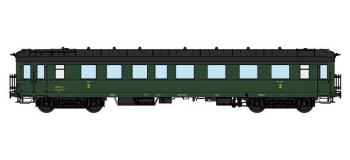 Modélisme ferroviaire : REE VB-36126 - Voiture Ex-Allemande Pullman