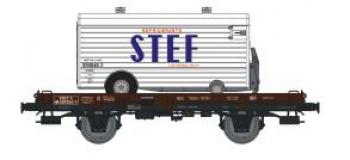 REE MODELE WB-071.1 Wagon UFR Mono-porteur,  Remorque Frigo