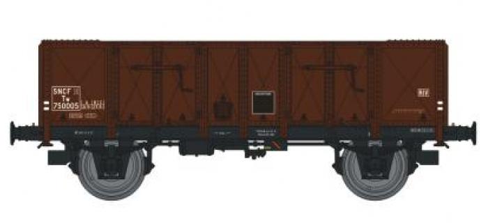 REE MODELE WB-146 Wagon TOMBEREAU OCEM 29,  Type A Tôlé