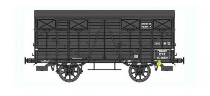 Train électrique : REE WB-286 - Wagon Couvert OCEM 19 Ep.II - EST