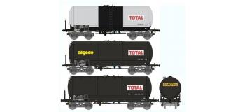 Train électrique : REE WB-312 - SET de 3 Wagons Citernes ANF Ep.IV