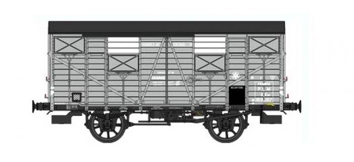 Train électrique :  REE WB-3230 - Wagon COUVERT OCEM 19 Ep.II