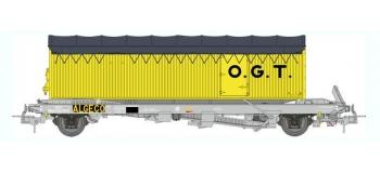 train électrique : REE WB-350 - Wagon KANGOUROU Ep.III + Remorque