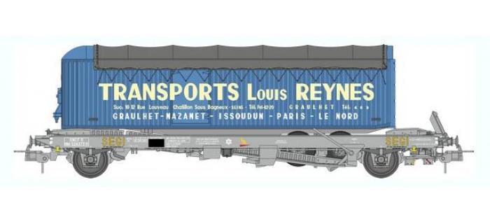 train électrique : REE WB-351 - Wagon KANGOUROU Ep.III + Remorque
