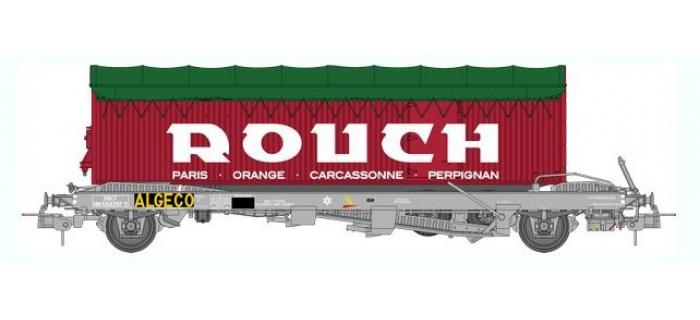 train électrique : REE WB-352 - Wagon KANGOUROU Ep.III + Remorque