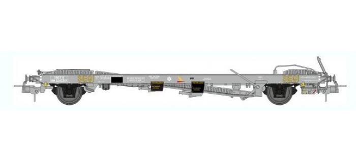 train électrique : REE WB-353 - Wagon KANGOUROU SEGI Ep.III vide