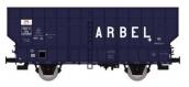 Modélisme ferroviaire :  REE WB-368 - Wagon Coke ARBEL 3 Portes Ep.III