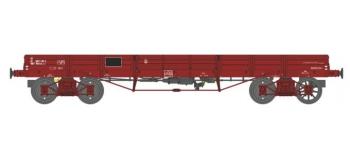 Modélisme ferroviaire : REE WB-429 - Wagon PLAT TP à 6 ridelles Ep.IV SNCF