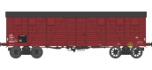 Modélisme ferroviaire : REE WB 526 - Wagon COUVERT TP 2 Portes Ep.III B SNCF