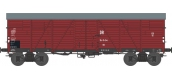 Modélisme ferroviaire : REE WB 528 - Wagon COUVERT TP 2 Portes Ep.III