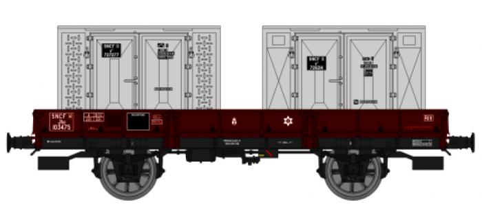REE WB 127 - Wagon plat OCEM 29